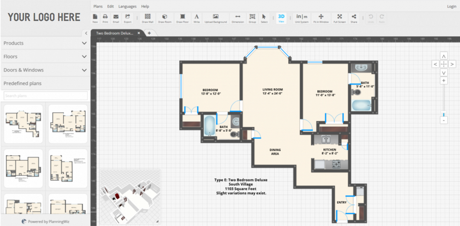 Floor Layout Tool for Property Managers