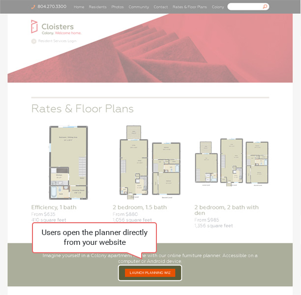 3d Room Designer For Property Developers Planningwiz Floor